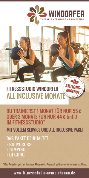 Winteraktion Fitnessstudio